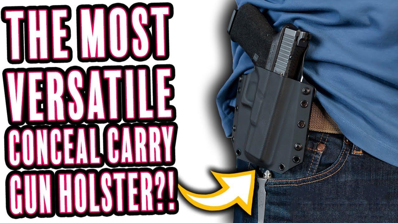 OWB BCA Kydex Gun Holster – Bravo Concealment