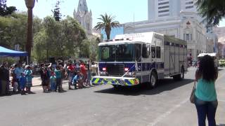 Bomberos Antofagasta y sus Nuevos Carros