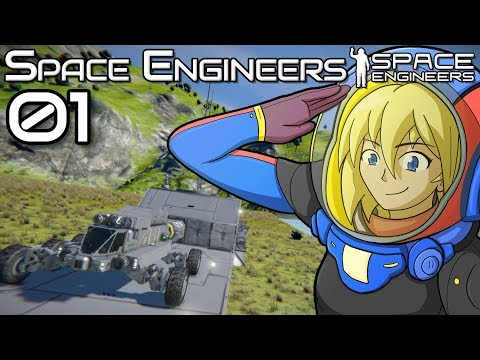 I'm back baby | Lots of rover crashing | Space Engineers Survival Gameplay | 01