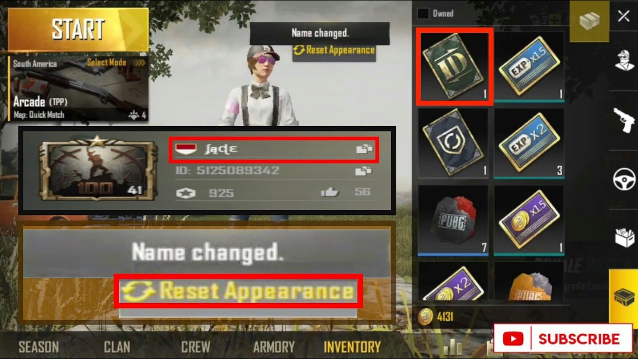 TUTORIAL How to Change Unique/Make Font for PUBG MOBILE Name