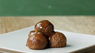 Chocolate Hazelnut Crunch Truffles