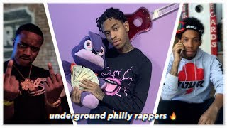 UNDERGROUND PHILADELPHIA RAPPERS YOU HAVE TO HEAR
