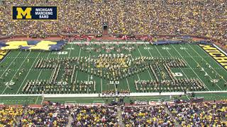 """Pasek and Paul"" - October 6, 2018 - The Michigan Marching Band"