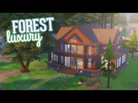 The Sims 4: Speed Build | Forest Luxury