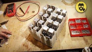 🔥 Алюминий-воздушный аккумулятор своими руками.