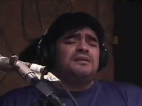 """Diego Maradona cantando tango: """"Cucusita"""""""