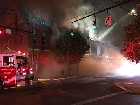 Several buildings damaged in downtown Loveland fire