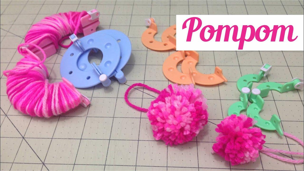 Como Fazer Pompons de lã - YouTube 288e8eb3d8d