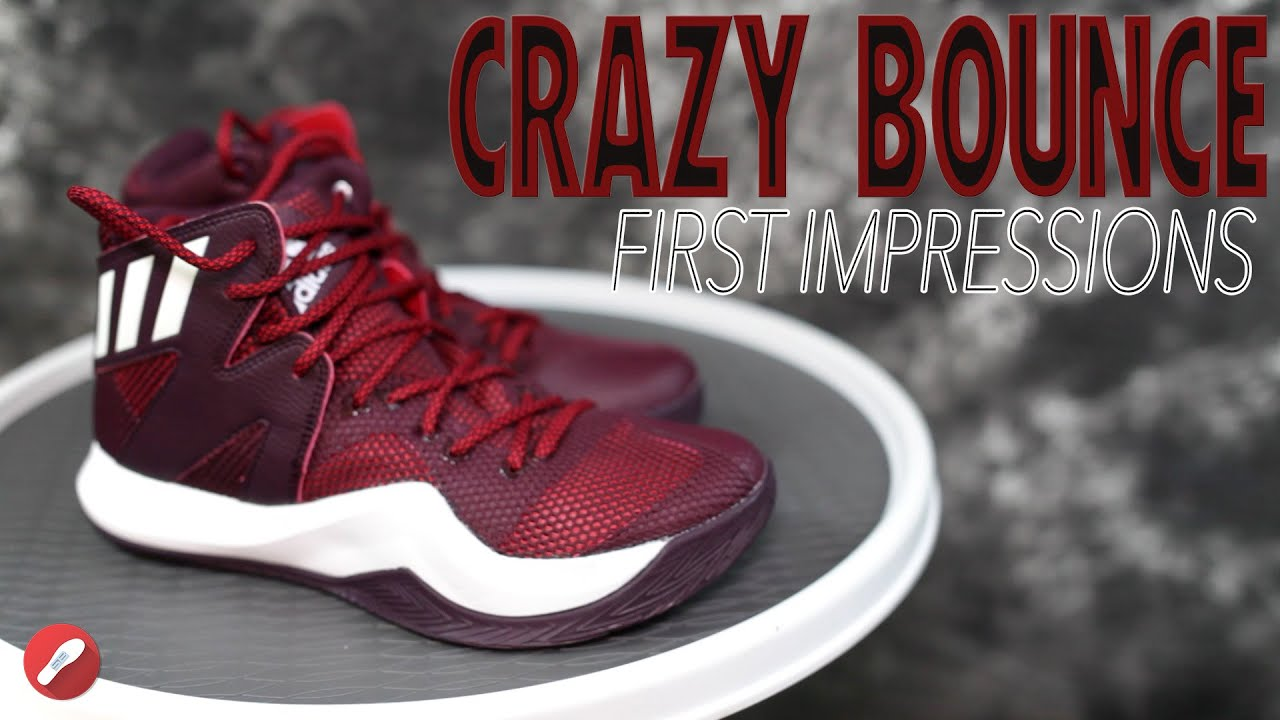 5730cbfd9d7d Adidas Crazy Bounce First Impressions! - YouTube