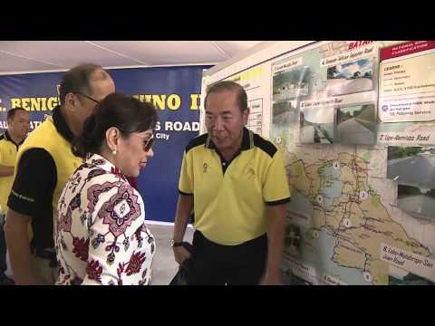 Inauguration of the Lipa-Alaminos Road 4/21/2016