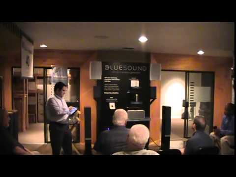 Bluesound Digital Music - Audiophile Discussion - Evening with  Gary Blouse of Lenbrook