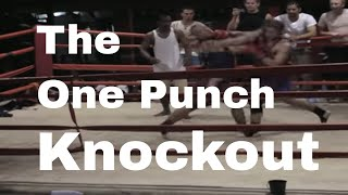 NinjaGym® Island Muay Thai Fight One Punch Knockout in Thailand