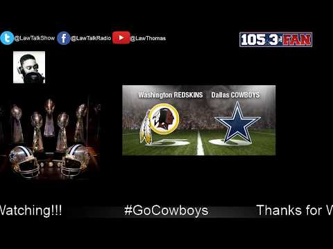 Live Radio:  Cowboys VS Washington Post Game