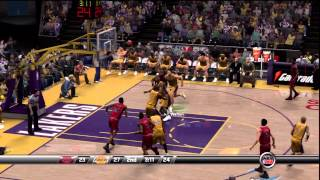 NBA 2K8: Chicago Bulls @ Los Angeles Lakers (FULL GAME)
