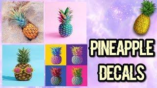 Roblox Bloxburg - Pineapple Decal Id's