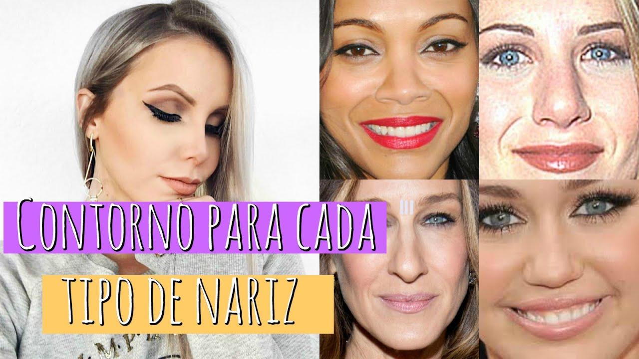 e8ac0d51a Contornos para CADA TIPO DE NARIZ - YouTube