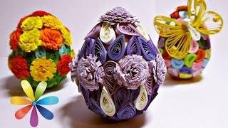 Яйца в технике квилинг к Пасхе: конкурс пысанок - Все буде добре - Выпуск 578 - 07.04.15