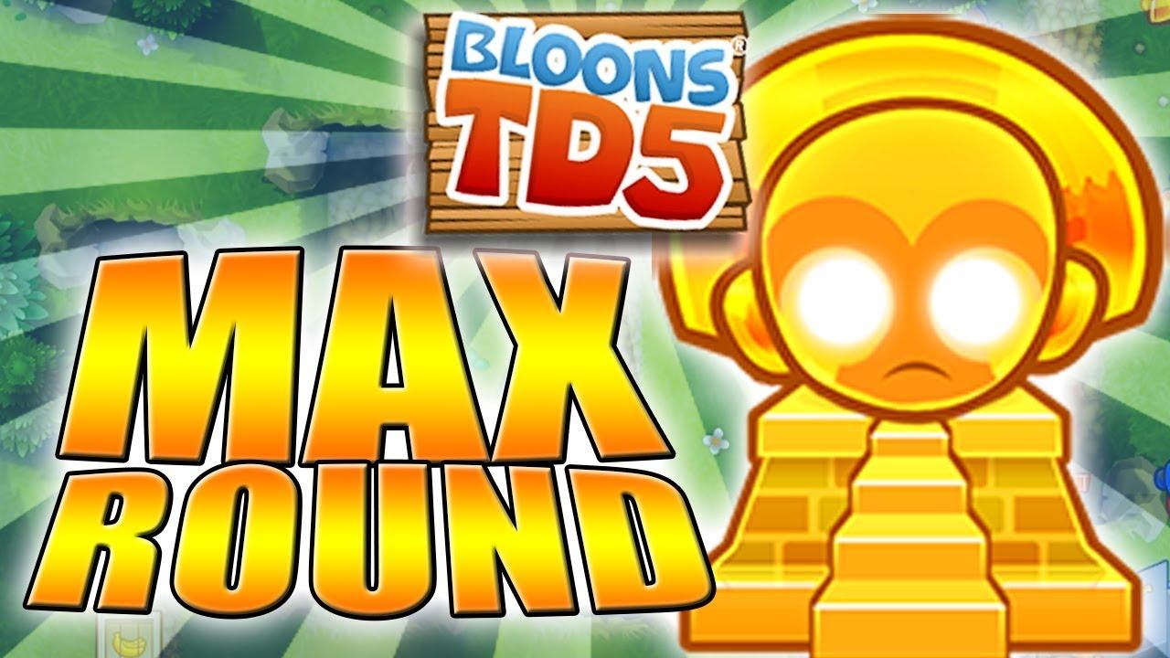 Maksymalna Runda W Btd5 78 Bloons Td5 Pl Youtube