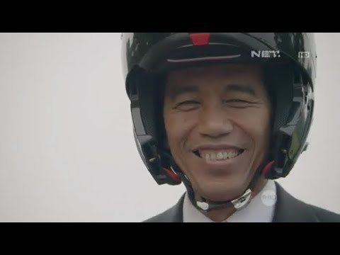 【ASIAN GAMES 2018】 President of Indonesia JOKO WIDODO rides MotorBike in Opening Ceremony