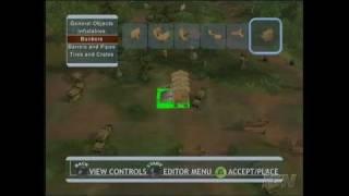 Splat Magazine Renegade Paintball Xbox Gameplay - Map Editor
