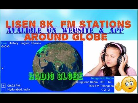 Radio.garden listen 8000+ live fm stations in the world