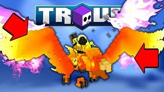 """HOW TO CRAFT """"FREE"""" PHOENIX in TROVE! ✪ How / Where to Get Fiery Feathers"""