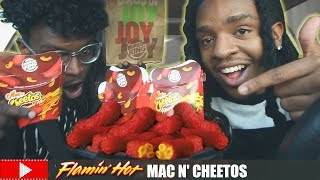 WHAT'S REALLY INSIDE BURGER KING'S FLAMIN' HOT MAC N' CHEETOS???