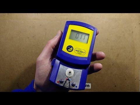 Fake Hakko FG-100 soldering tip thermometer test.