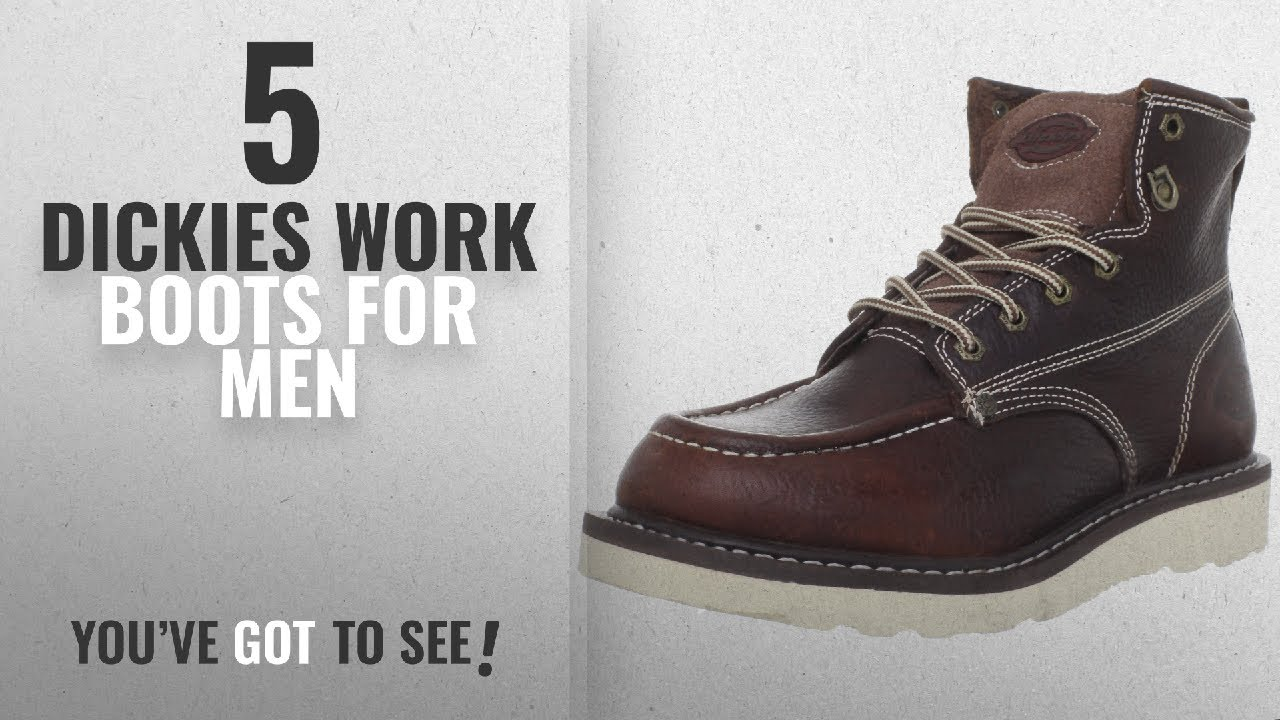 7173ebfccda Top 10 Dickies Work Boots [2018 ]: Dickies Men's Trader 6