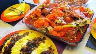 "Sweet and Sour Persian Chicken ""Morghe Torsho Shirin"""