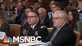 Lt. Col. Vindman On America: 'This Is America... Here, Right Matters' | MSNBC