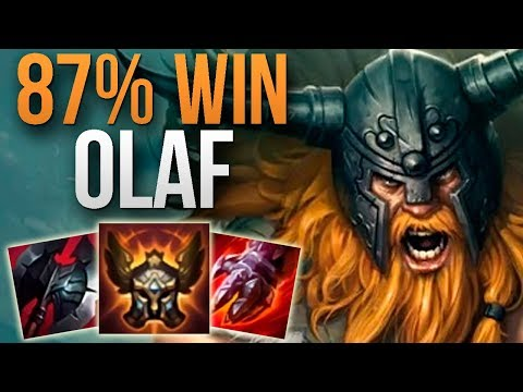 87% WIN RATE CHALLENGER OLAF | CHALLENGER OLAF TOP GAMEPLAY | Patch 9.17 S9