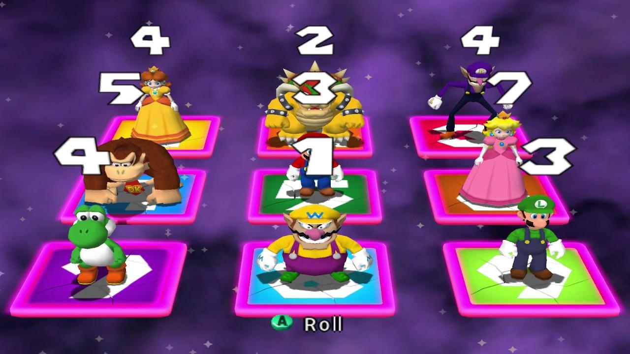 Mario Party 4 - Panel Panic