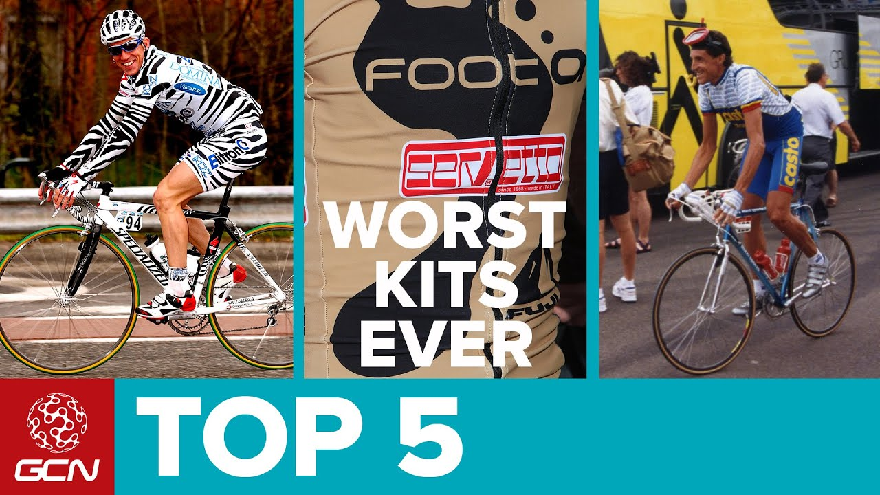 Top 5 Worst Cycling Team Kits - YouTube 300f25ce7