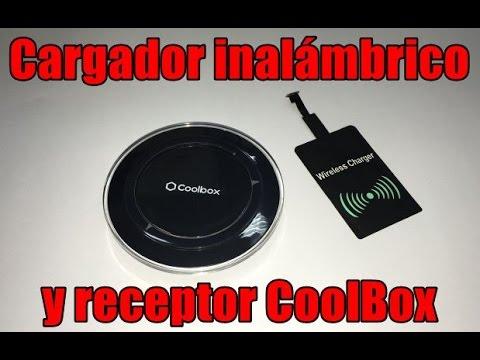 Resultado de imagen para base de carga inalámbrica y adaptador Qi Coolbox