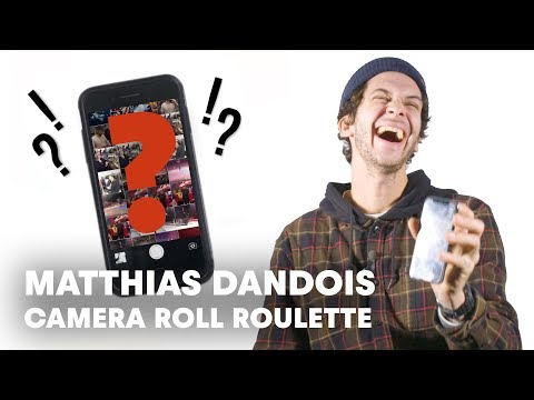 BMXer Leaked Phone Footage | Camera Roll Roulette w/ Matthias Dandois
