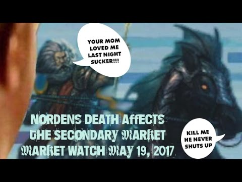 Nordens Death Affects The Secondary Market - Yugioh Market Watch May 19, 2017