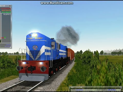 First in Youtube; WDM3F freight activity in MSTS