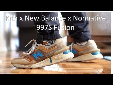 half off 645f2 20c05 Kith Fusion 997S - Review and On-feet - YouTube