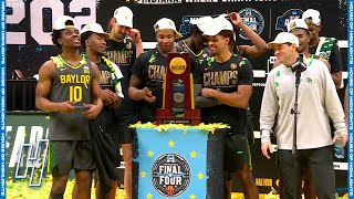 Baylor Bears Trophy Presentation - April 5, 2021 | 2021 NCAA March Madness The Final