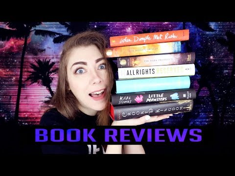BOOK REVIEWS | LITTLE MONSTERS, CROOKED KINGDOM, TRIALS OF APOLLO, & MORE!