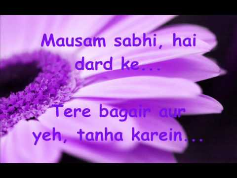 Aashayen   Iqbal   Song Lyrics   Glamsham