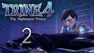 Trine 4: The Nightmare Prince - Кооперативное прохождение игры - Проклятый особняк [#2]   PC