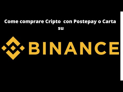 comprare criptovalute su binance mywallet bitcoin