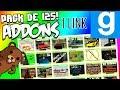Addons para Gmod por Mediafire y Steam: MEGA PACK DE 125 ADDONS - 1 LINK