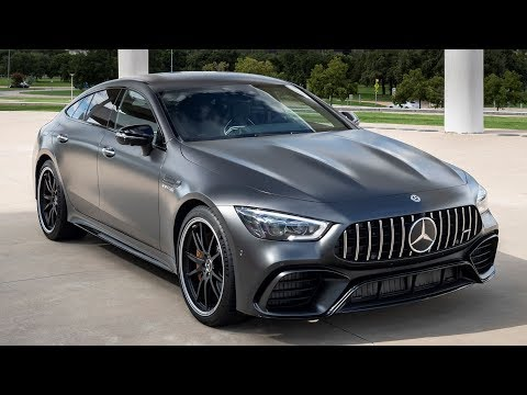 2019 Mercedes-AMG GT 63S 4MATIC+ | graphite gray