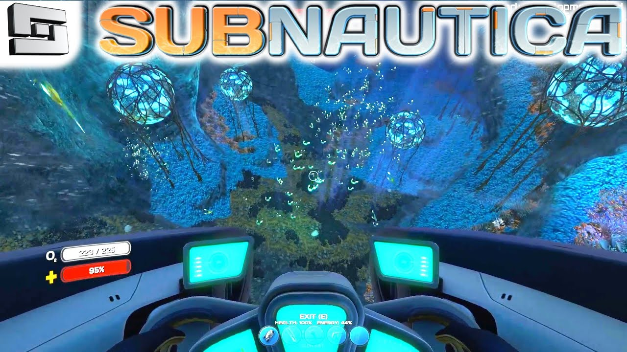 Subnautica Gameplay : DEEP GRAND REEF CAVERN!!! S2E15 ...