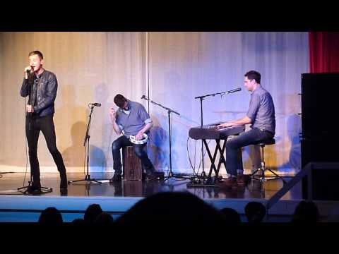 Keane Crystal Ball acoustic live concert at Battle Memorial Hall HD 18/11/2013