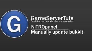 Manually update bukkit :: NiTROpanel