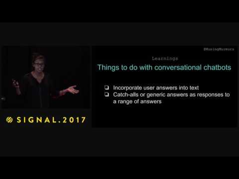 Making Useful SMS Chatbots